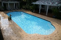 Phoenix Fiberglass Pool in Wenonah, NJ